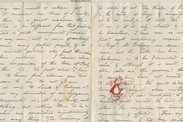William Jones letter