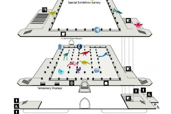 Museum floorplan