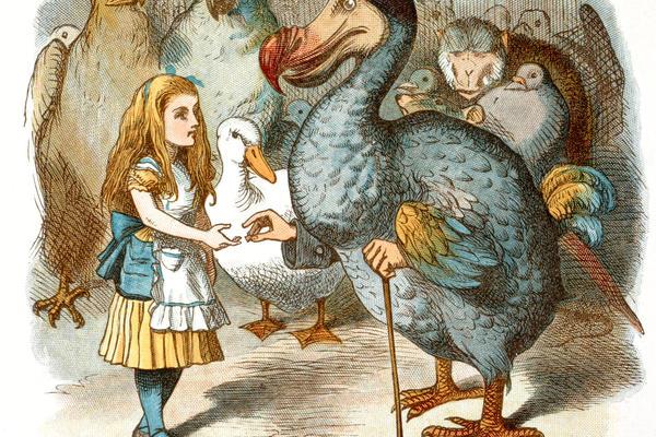 John Tenniel illustration from the nursery Alice