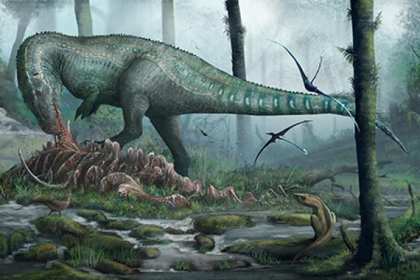 megalosaurus  dinosaurs and art event image