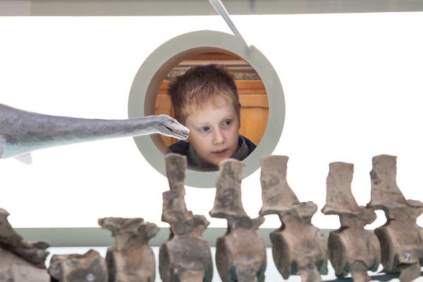 plesiosaur kid
