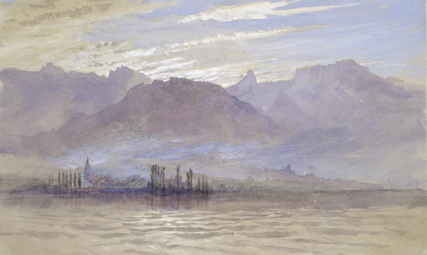 wa rs ed 298 b a john ruskin morning in spring with north east wind at vevey c ashmolean museum university of oxford