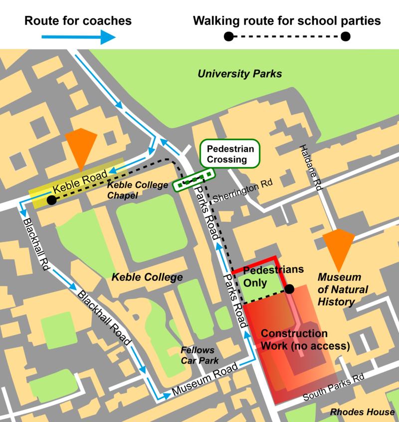 coach arrivals' map 2021