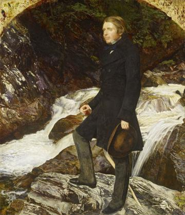 WA2013.67 John Everett Millais, 'John Ruskin'